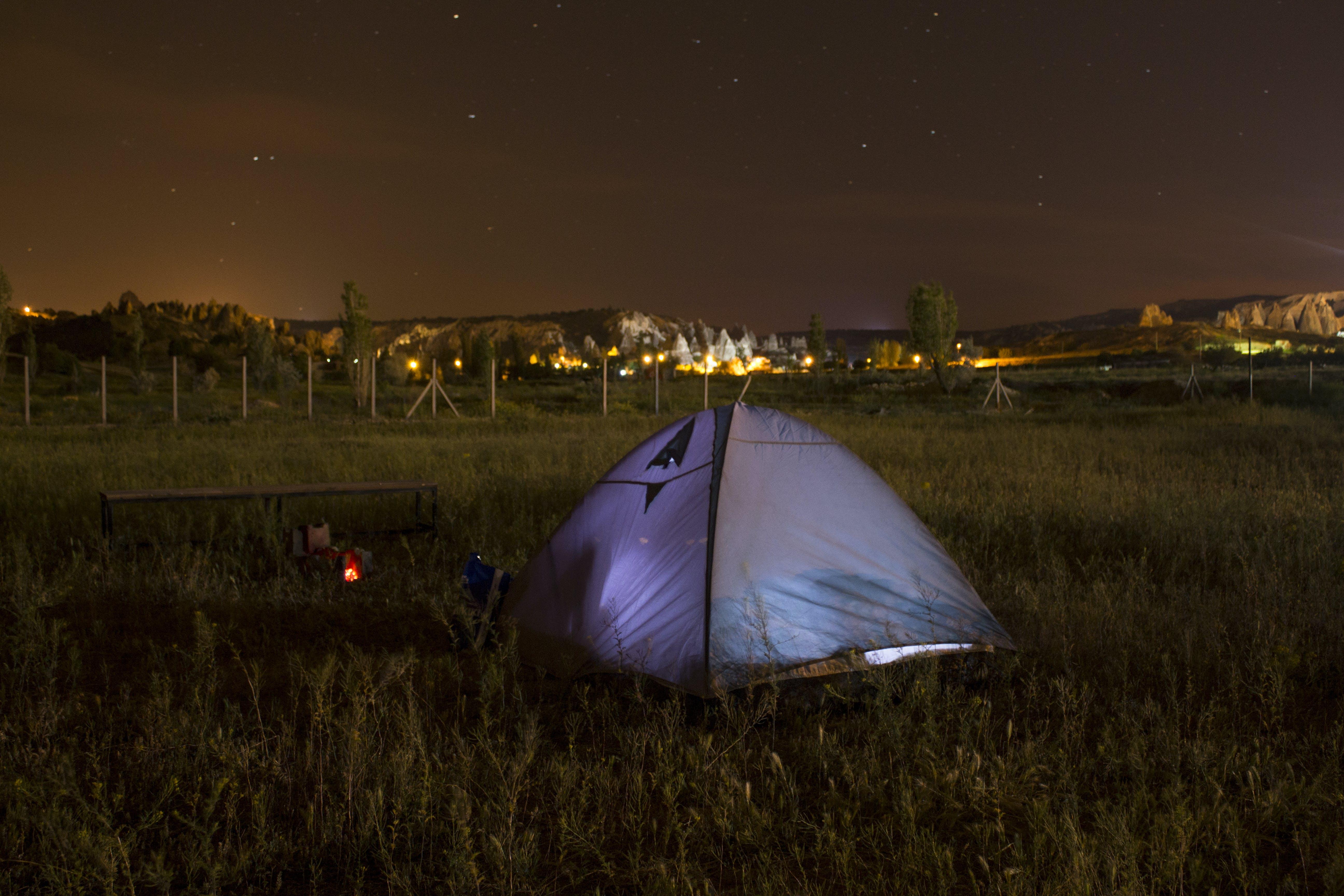 Free stock photo of campfire, camping, cappadocia, nature