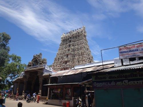 Free stock photo of papanasam temple