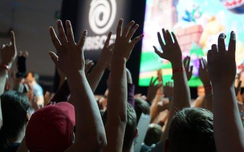 Foto stok gratis gamescom, kerumunan orang, konvensi, pertandingan