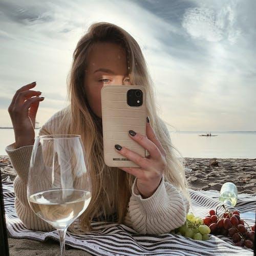 Imagine de stoc gratuită din atmosferă, cădere, faleză, iubitor de plajă