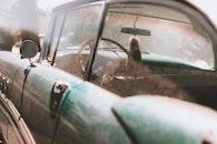 dirty, car, vehicle