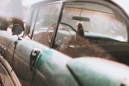 Free stock photo of dirty, car, vehicle, vintage