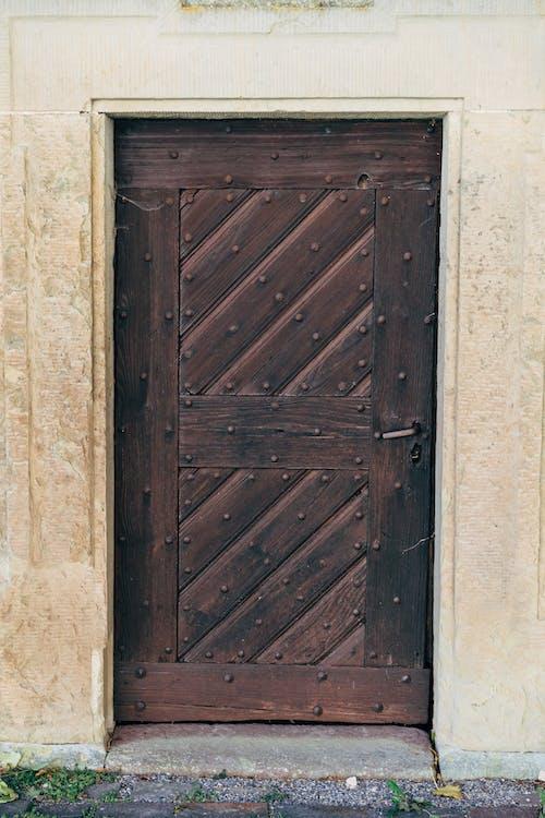 Shabby Wooden Door