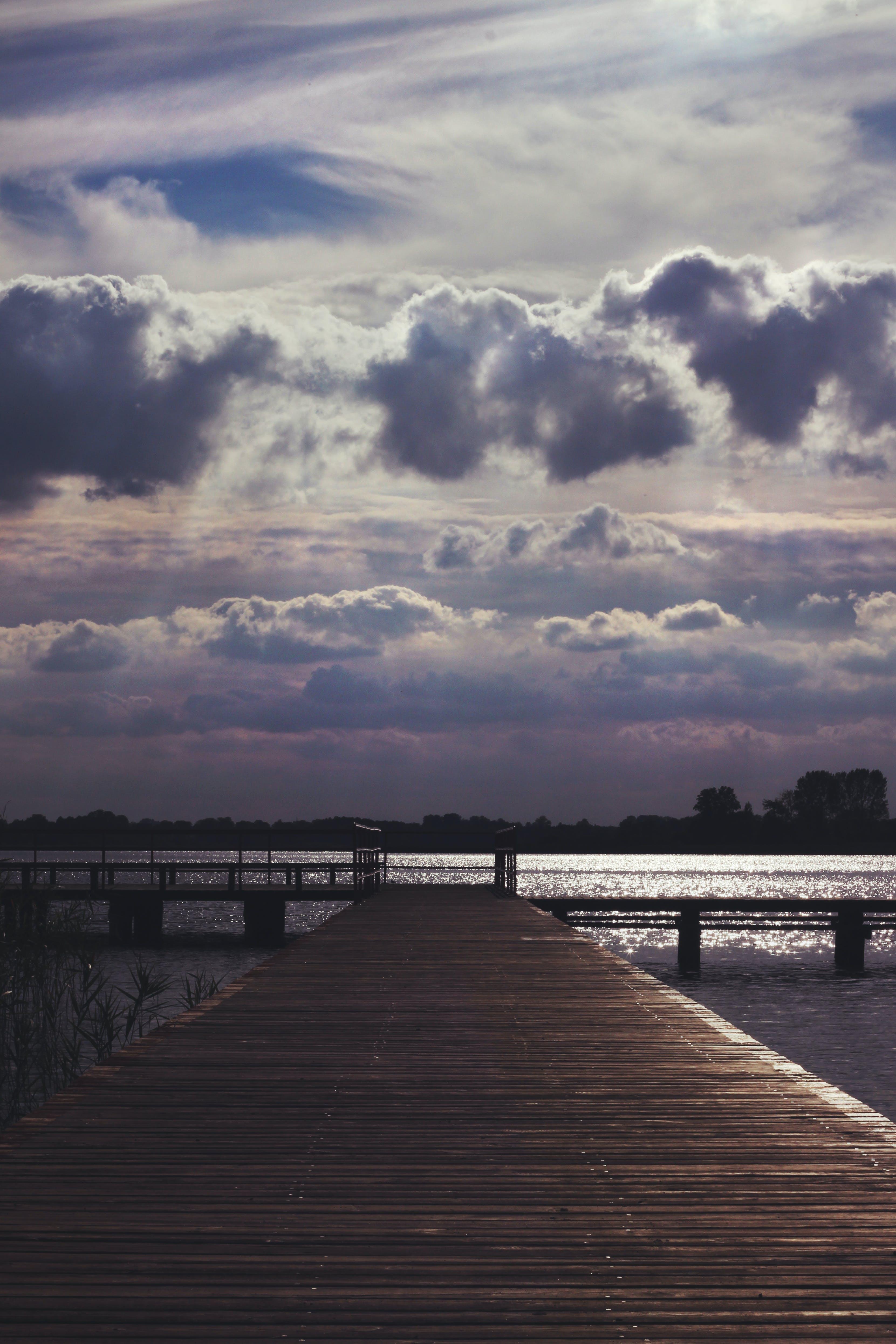 Lake & sky