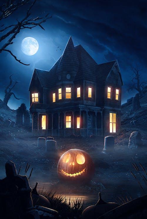 Free stock photo of Adobe Photoshop, halloween