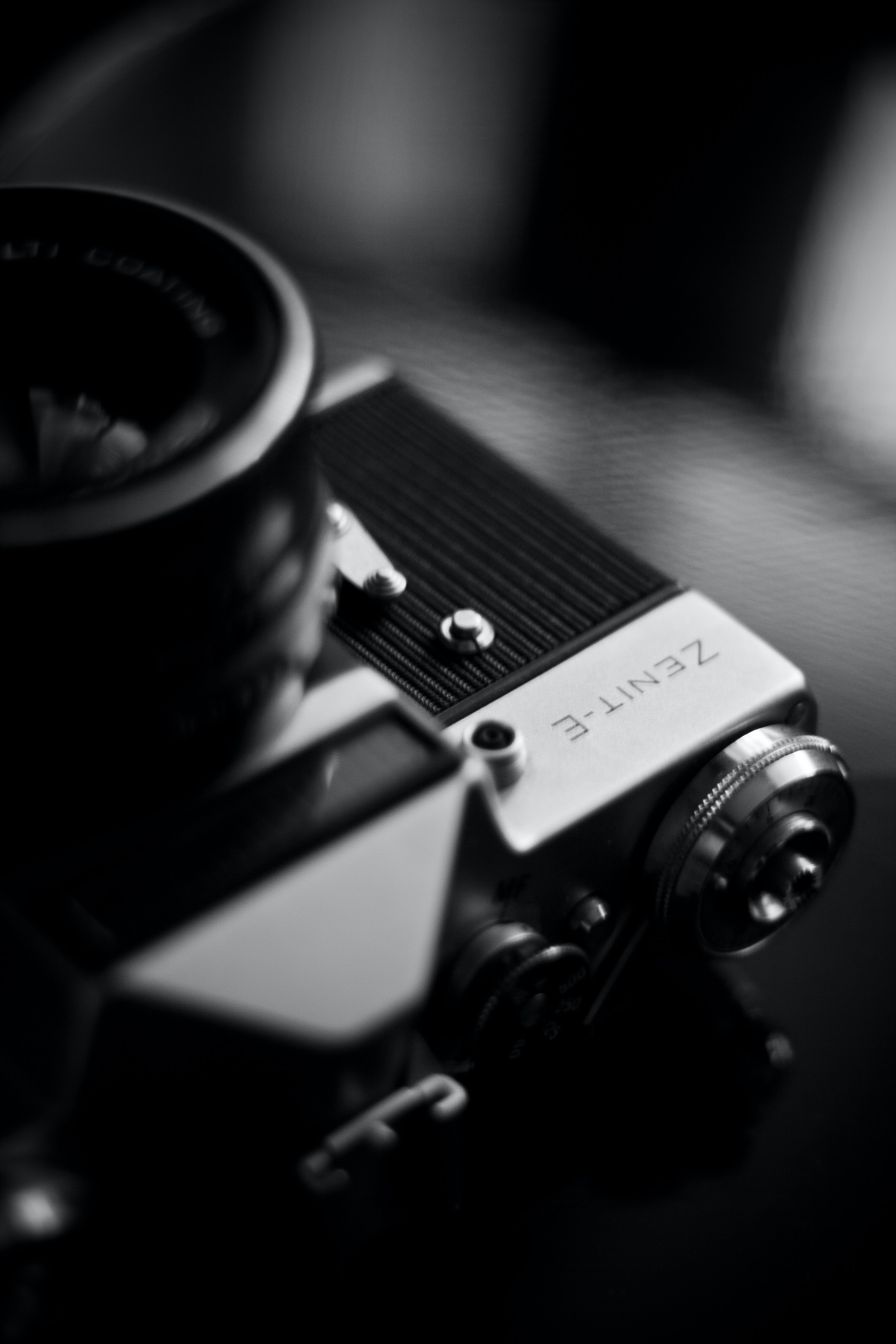 free stock photo of blackandwhite camera classic