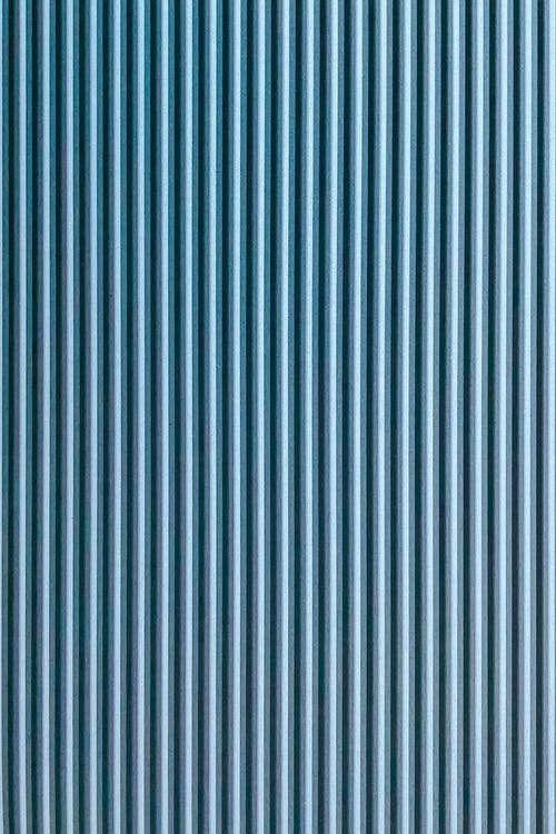 Blue abstract background with geometric thin lines and striped decoration with seamless pattern on surface with even texture on wall