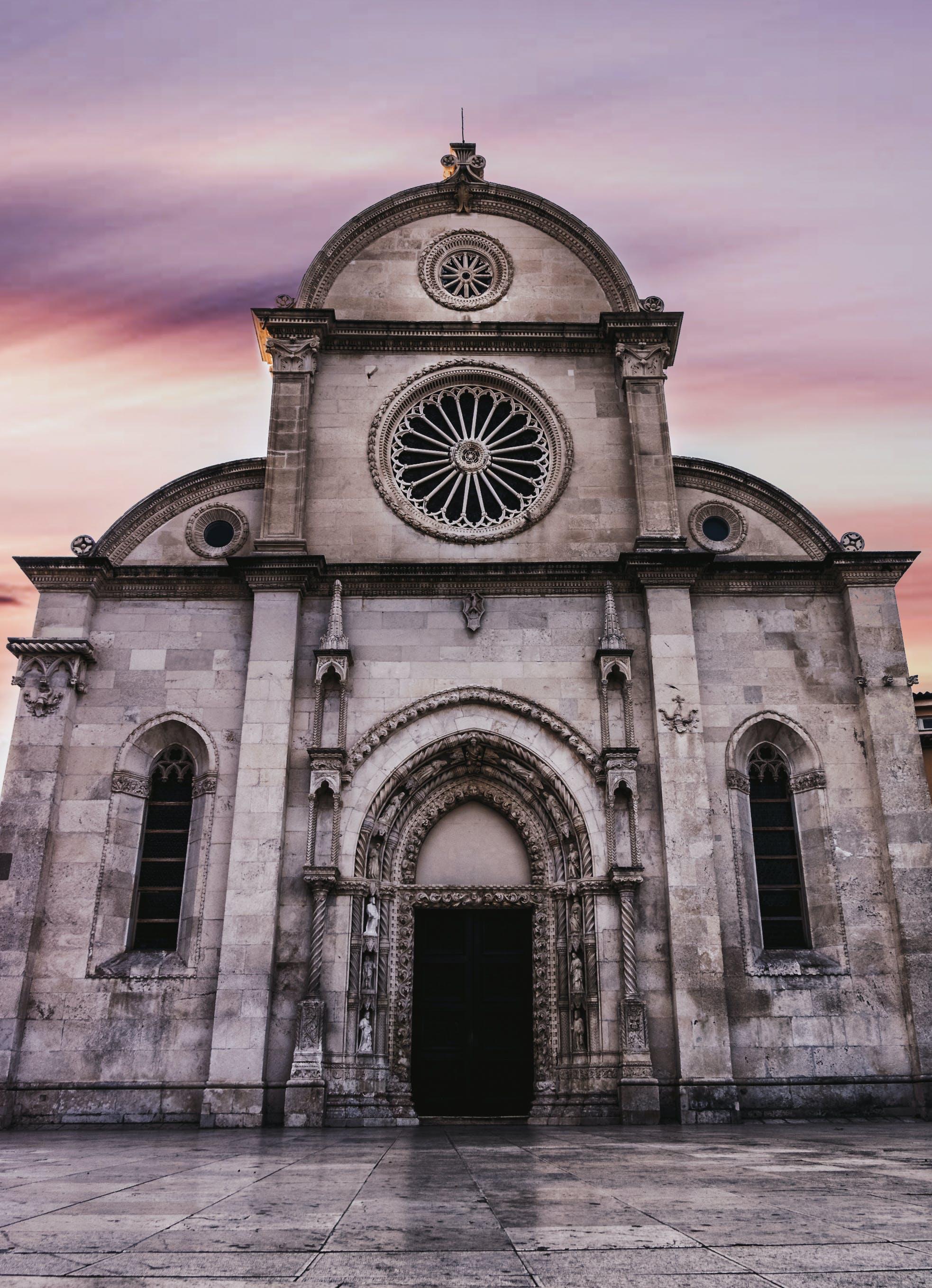 Kostnadsfri bild av arkitektur, byggnad, gammal, katedral