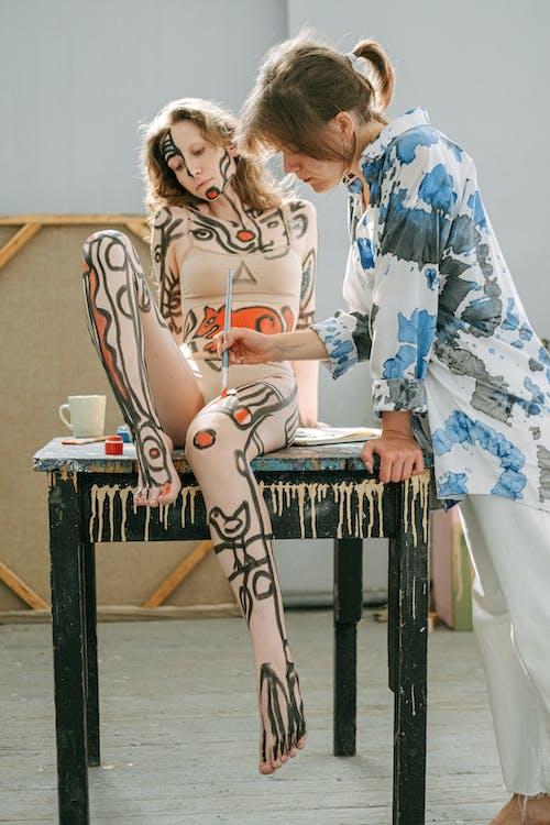 bodyart, 事件, 人, 人體彩繪 的 免費圖庫相片