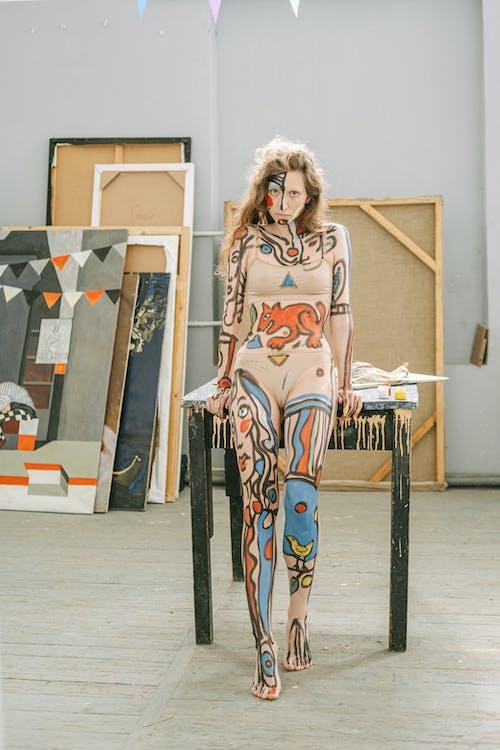 bodyart, 事件, 人體彩繪, 人體藝術 的 免費圖庫相片