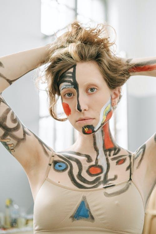 acepainting, bodyart, 事件, 人體彩繪 的 免費圖庫相片