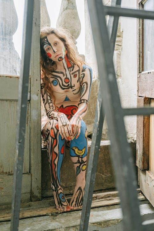 acepainting, bodyart, 事件, 人 的 免費圖庫相片
