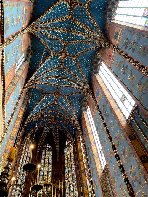 The Ceiling of St. Mary's Basilica