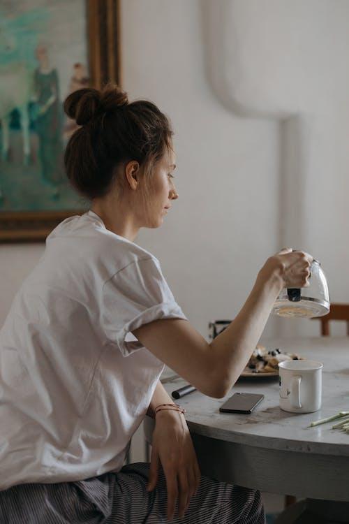 Δωρεάν στοκ φωτογραφιών με Ίριδα, Ίρις, καφές