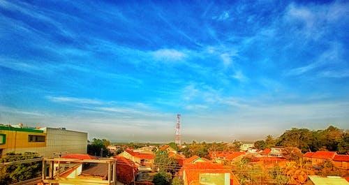Free stock photo of 4k wallpaper, blue sky, city