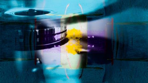 Kostenloses Stock Foto zu abstrakt, abstraktes gemälde, acrylfarbe, action