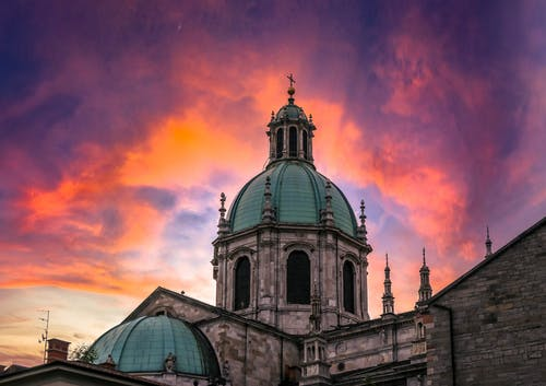 Free stock photo of architectural building, beautiful sky, church building