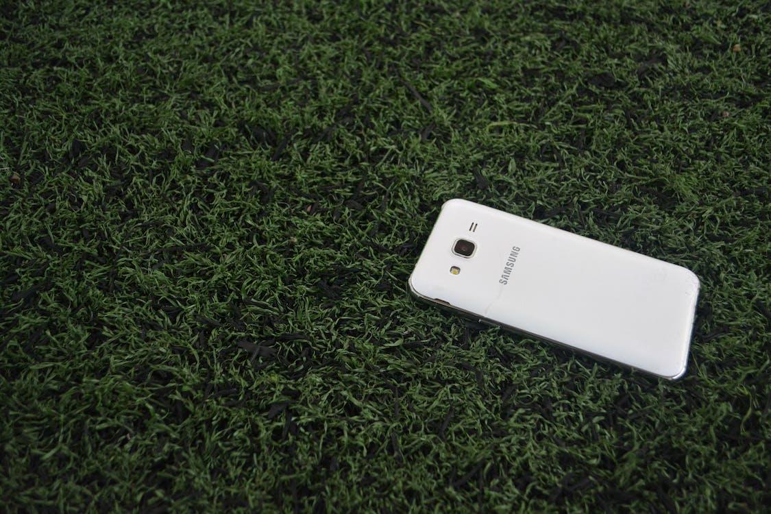 celular, cenário, foto