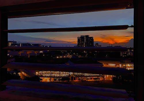 Free stock photo of background image, beautiful sunset, city