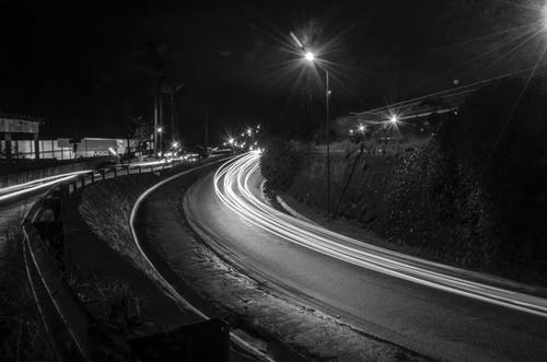 Free stock photo of long exposure, night, night photography