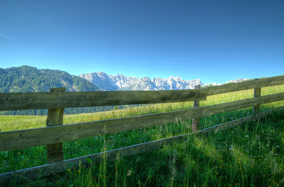 blue sky, clear sky, countryside