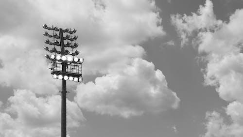 ランプ, リフレクター, 雲の無料の写真素材