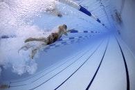 blue, sport, swimming