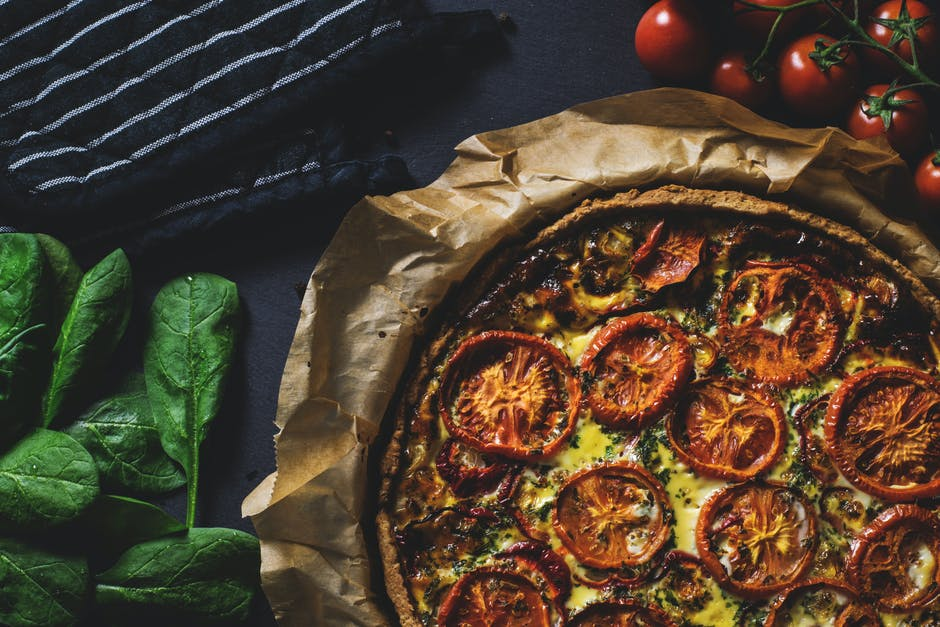 Vegetarian Pizza in Japan