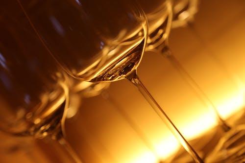 Kostenloses Stock Foto zu durchsichtig, glas, transparent, wein