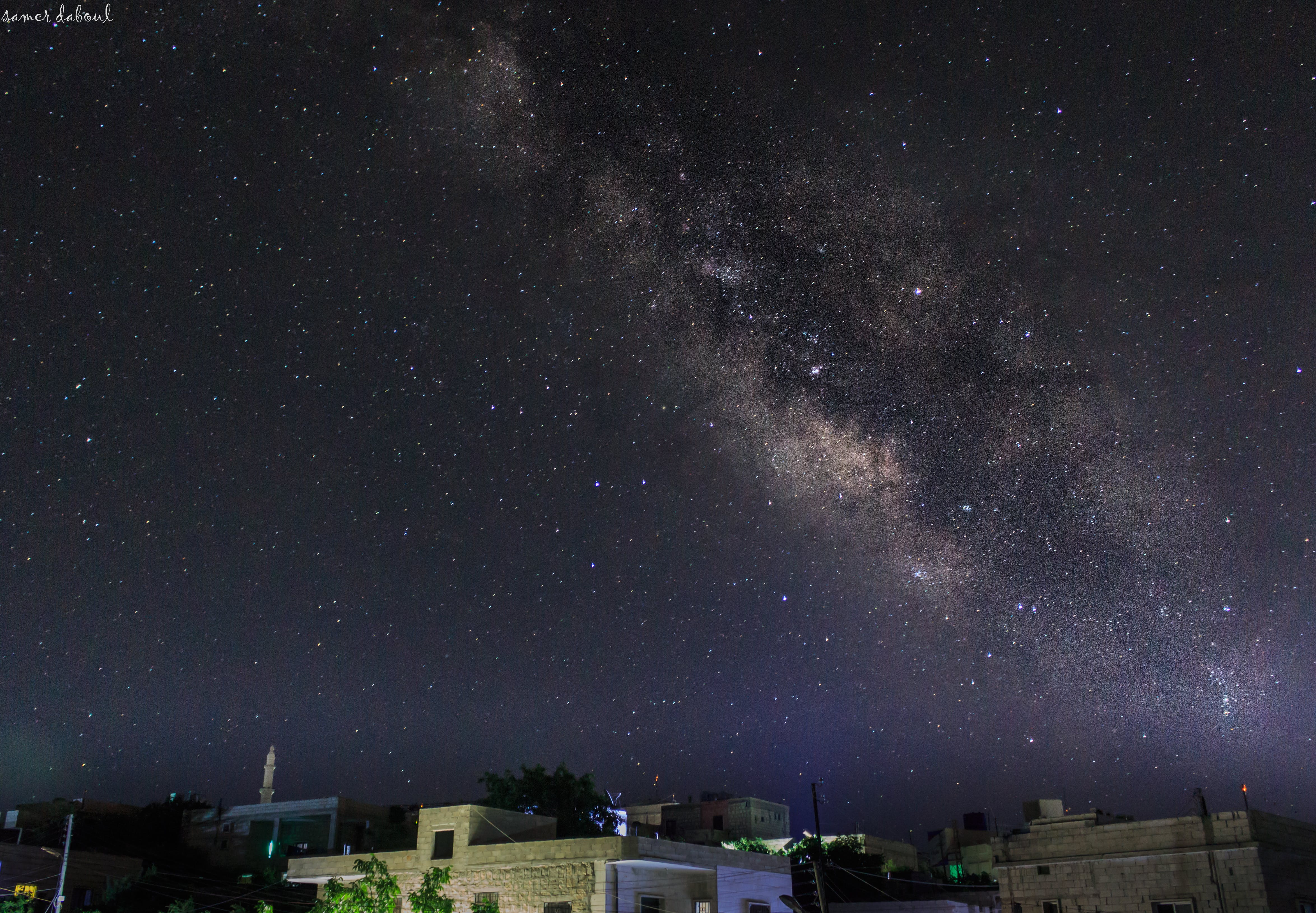 Free stock photo of all star, idlib, love, milky way