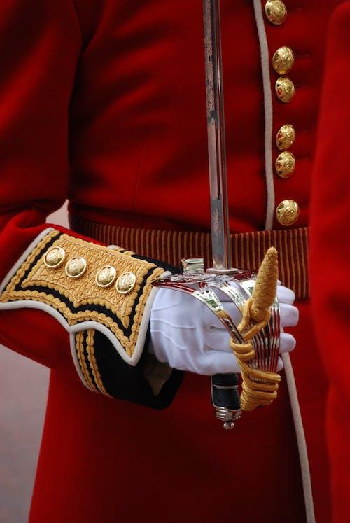 Kostnadsfri bild av ärm, brittiska armén, ceremoniell, enhetlig