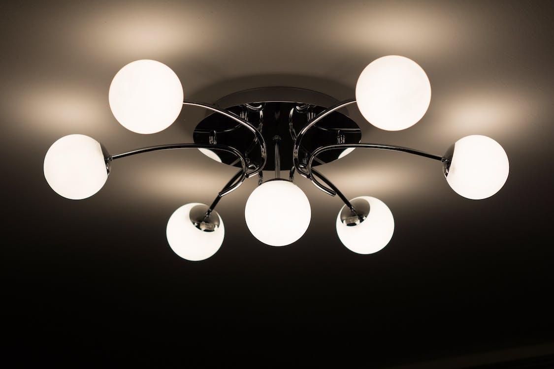 design, design interiéru, lustr