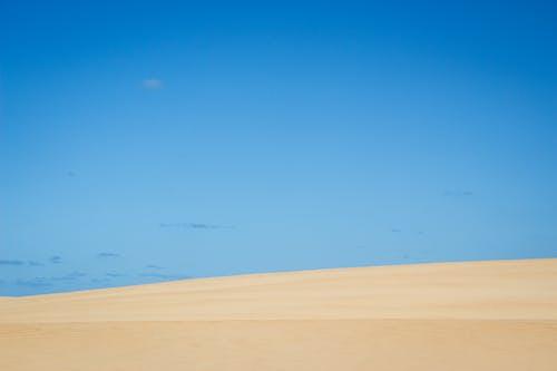 Foto profissional grátis de areia, cã © u, céu