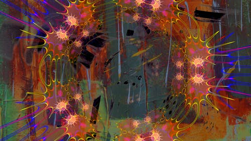Kostenloses Stock Foto zu abbildung, abstrakt, abstraktes gemälde, acrylfarbe
