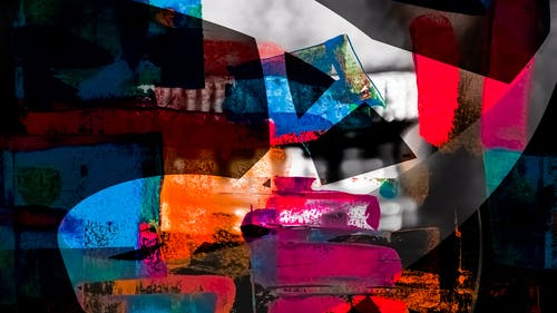 Kostenloses Stock Foto zu abstrakt, abstraktes gemälde, acryl, acrylfarbe