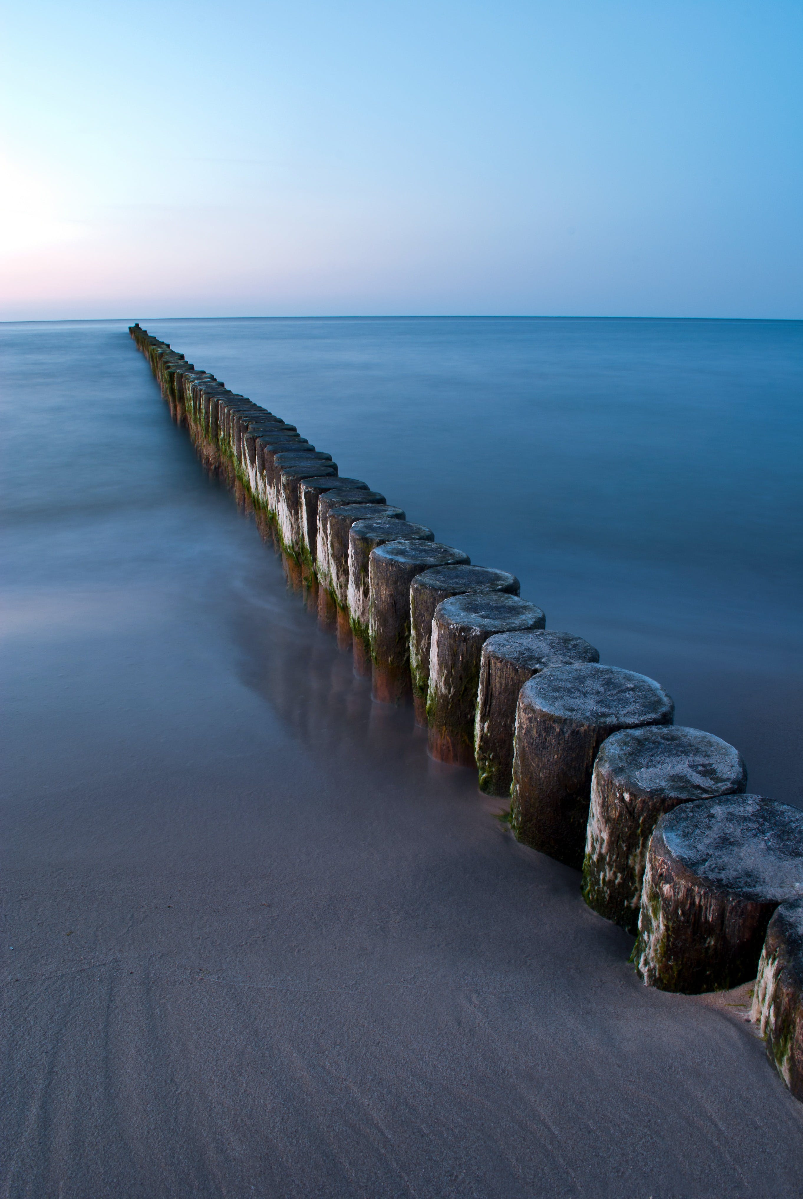 Sea Dock Poles