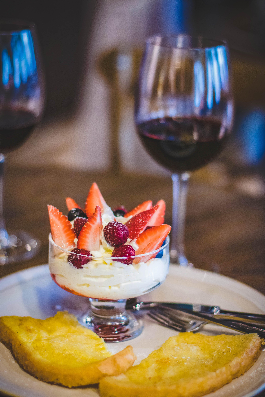 Fruity Cake in Goblet