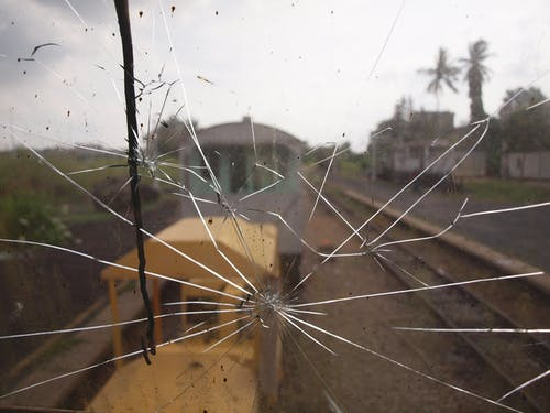 Free stock photo of glass, shattered
