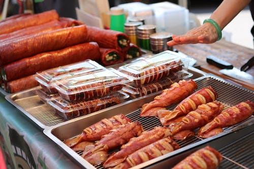 Foto d'estoc gratuïta de atractiu, bacó, bacon