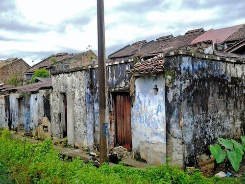 Free stock photo of abandoned, back door, back lane