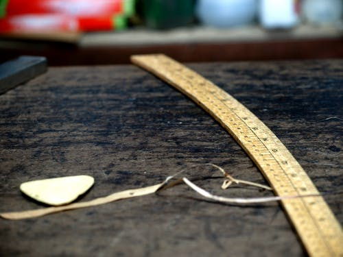 Free stock photo of chalk, ruler, tailor