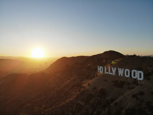 Hollywood Sign on Hollywood Hills