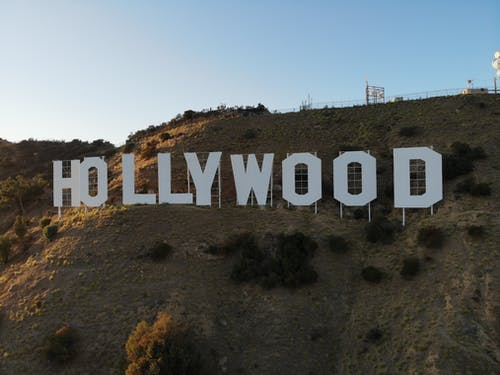 Hollywood Sign on Hill