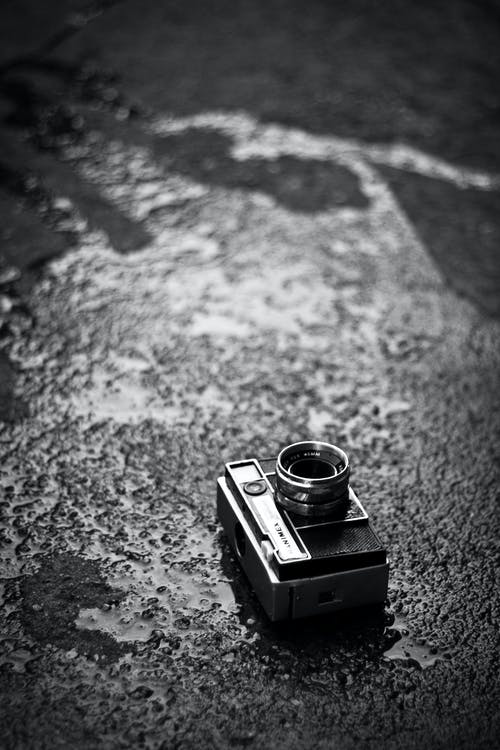 Camera on the road