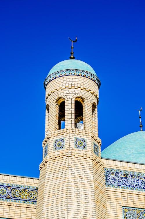 哈萨克斯坦, 城市清真寺, 塔, 宗教 的 免费素材照片