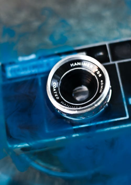 Camera in the water