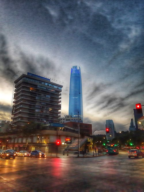 Free stock photo of buildings, chile, city