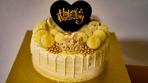 Gratis stockfoto met feest, fijne verjaardag, geel