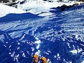 snow, mountains, winter