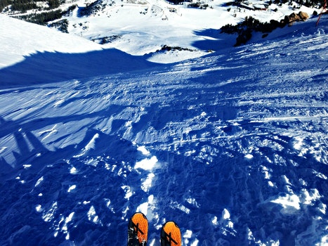 Free stock photo of snow, mountains, winter, sport
